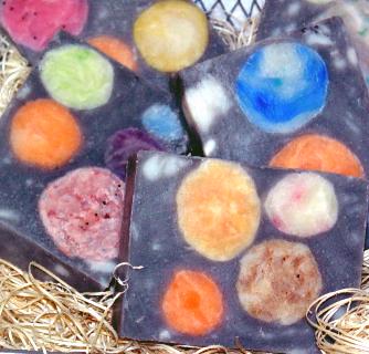 Moons of Jupiter Soap