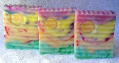 9 Color HP Soap (count em)